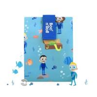 Ambalaj reutilizabil pentru sandwich Boc'n'Roll Kids, Ocean