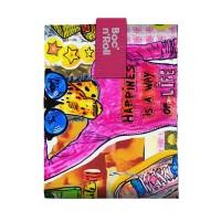 Ambalaj reutilizabil pentru sandwich Boc'n'Roll Teens Girls Giraffe