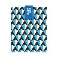 Ambalaj reutilizabil pentru sandwich Boc'n'Roll Tiles, Bleu
