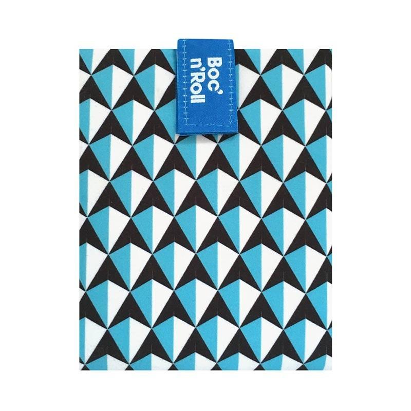 Ambalaj reutilizabil pentru sandwich Boc'n'Roll Tiles, Bleu 2021 shopu.ro