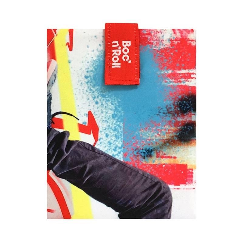 Ambalaj reutilizabil pentru sandwich Boc'n'Roll Young Skate 2021 shopu.ro