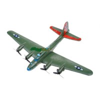 Avion bombardier B-17, raza 150 m, telecomanda