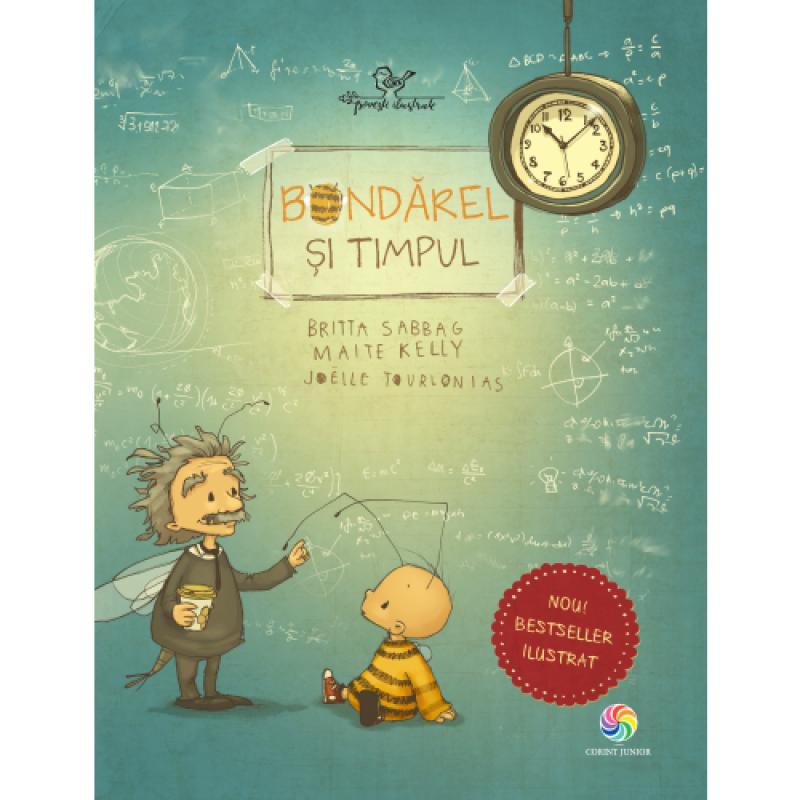 Carte pentru copii Bondarel si timpul Corint, 32 pagini, 3 ani+ 2021 shopu.ro