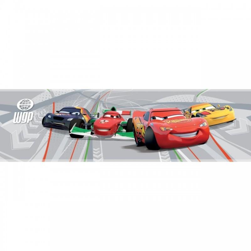 Bordura Decofun Cars, autoadeziva perete, 5 m, material non-toxic 2021 shopu.ro