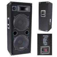 Boxa bass reflex 3 cai, 2 x 15 inch, RMS 400 W