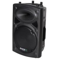 Boxa profesionala Ibiza, activa, 300W, Bluetooth, USB/MP3, negru