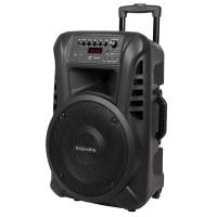 Boxa activa portabila UHF 12 inch Kruger & Matz, bluetooth 2.1, USB, 2 microfoane, 40 W