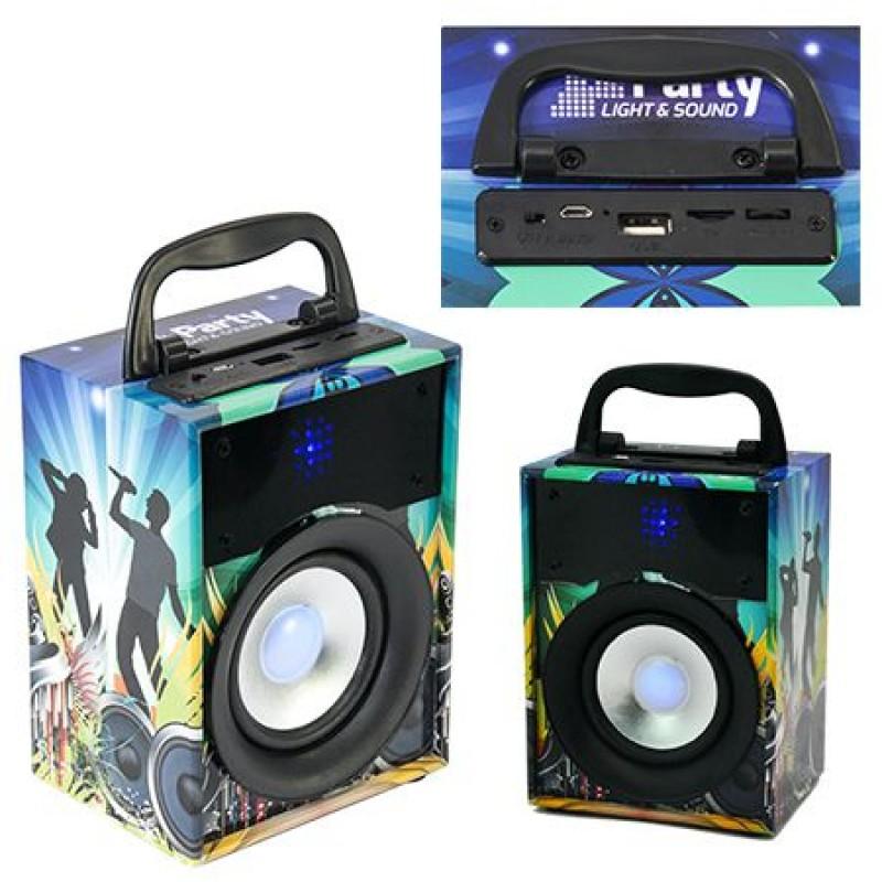 Sistem audio portabil, Bluetooth, USB, AUX, FM, baterie incorporata, 10 W 2021 shopu.ro