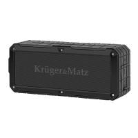 Boxa Discovery Kruger & Matz, bluetooth,  IP67, USB, AUX, 2 x 4 W, Negru