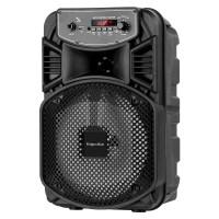 Boxa Bluetooth Music Box Kruger & Marz, 10 W, 8 inch + 1 inch, AUX, USB 2.0, intrare microfon, Negru