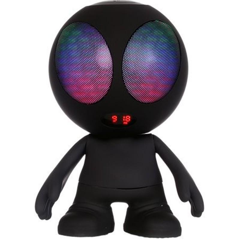 Boxa bluetooth portabila, model alien, MSD, FM, 10 W, Negru 2021 shopu.ro