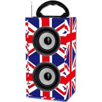 Boxa portabila Freesound UK, 12 W, redare USB/SD, Bluetooth