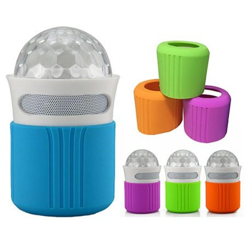 Boxa portabila Astro, Bluetooth, RGB, huse de schimb 4 culori
