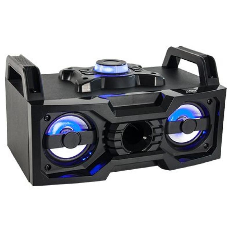 Boxa portabila 4 inch, iluminata, USB, Bluetooth, 2 x 25 W 2021 shopu.ro