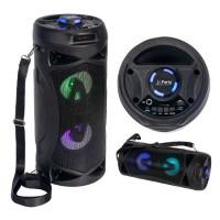 Boxa portabila TWS, 10 W, BT/FM/USB/AUX, 1500 mAh, baterie reincarcabila, LED