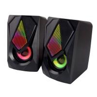 Boxe Rainbow Boogie Esperanza, 2.0 USB, LED, 5V, Negru