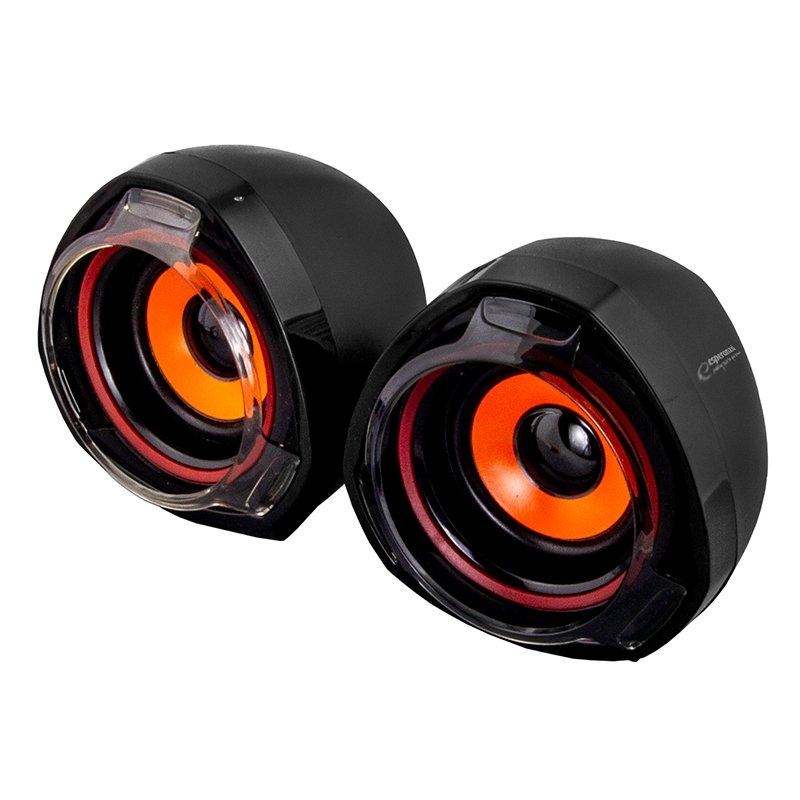 Boxe stereo 2.0 Rumba Esperanza, jack 3.5 mm, Negru 2021 shopu.ro
