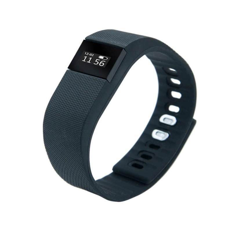 Bratara Smart Fitness 100 E-Boda, Bluetooth 4.0, 0.49 inch, 60 mAh, silicon, Negru 2021 shopu.ro