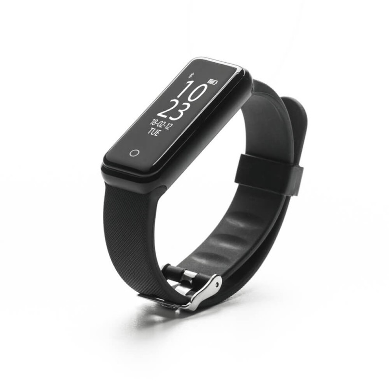 Bratara SmartFitness 310 BP E-Boda, Bluetooth 4.0, 235 x 19 x 11 mm, 85 mAh, cauciuc, Negru 2021 shopu.ro