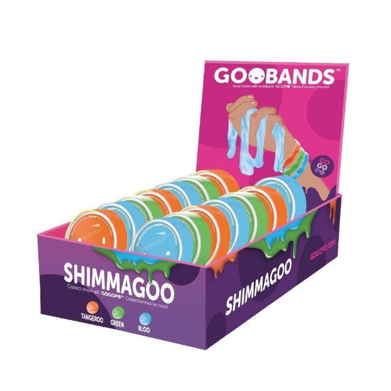 Bratara Slime Shimmagoo Rainbow Keycraft, 3 ani+ 2021 shopu.ro