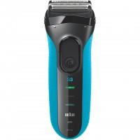 Aparat de ras Braun 3010 Wet&Dry, maner ergonomic, alimentare acumulator