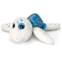Broscuta testoasa de plus Sparkle Eye, Keel Toys, 25 cm, Bleu, 3 ani+