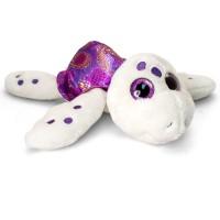 Broscuta testoasa de plus Sparkle Eye, Keel Toys, 25 cm, Mov, 3 ani+