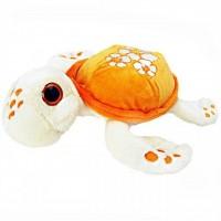 Broscuta testoasa de plus Turtley Awesome Keel Toys, 30 cm, Orange, 3 ani+