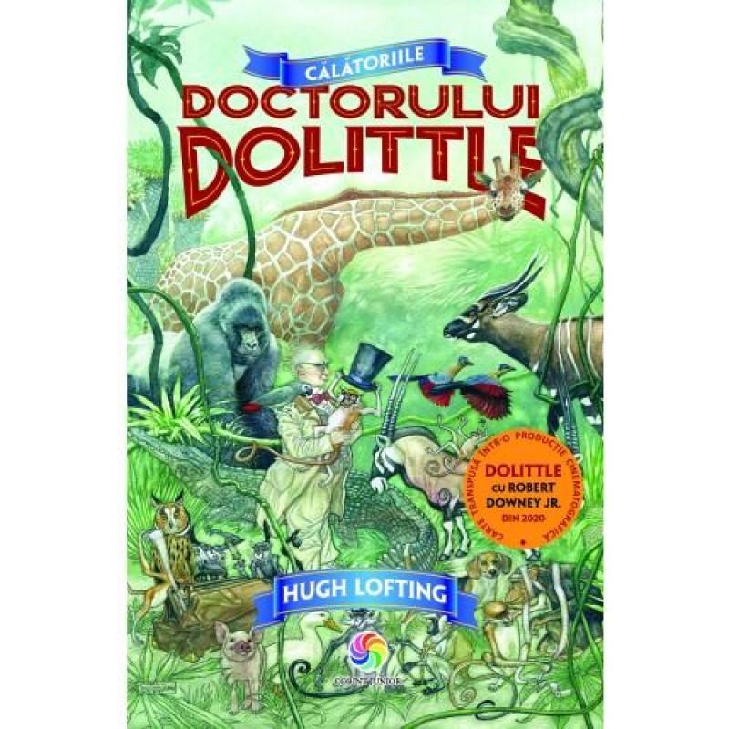 Carte de povesti Calatoriile Doctorului Dolittle, 336 pagini, 3 ani+ 2021 shopu.ro