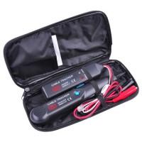 Cable tracker Mastech MS6812, baterie 9 V, transmitator/receptor incluse