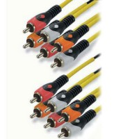 Cablu 6 x RCA - 6 x RCA HQ, 5 m