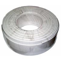 Cablu coaxial 3C2V, rola 100 m, Alb