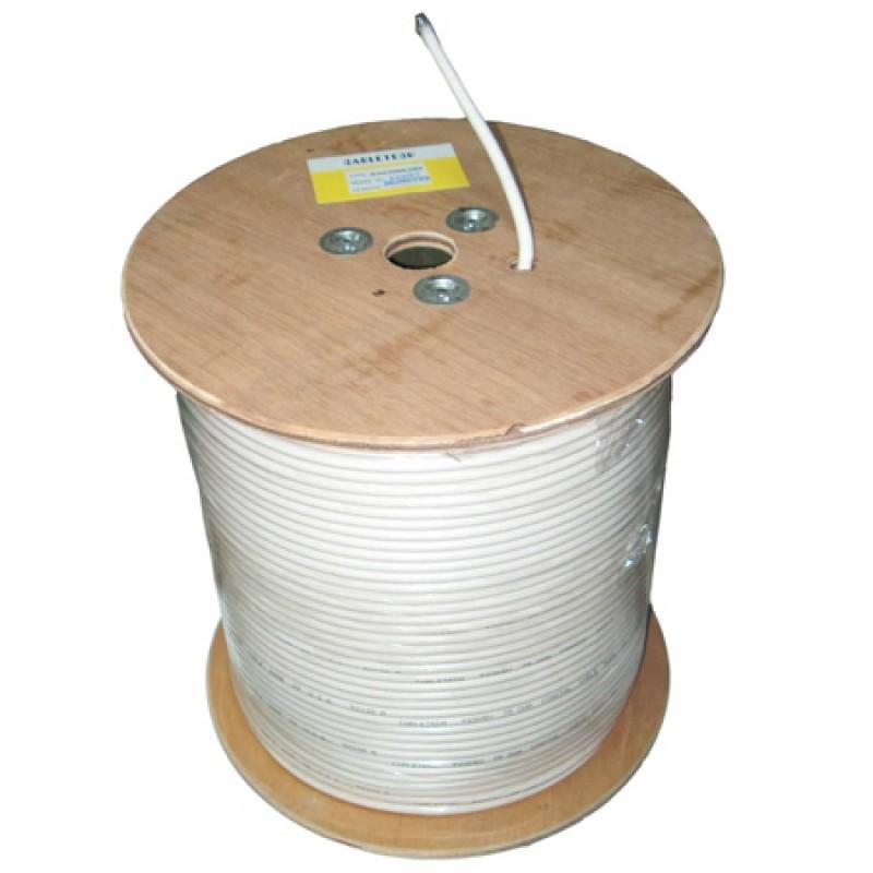 Cablu coaxial Cabletech, miez de cupru, ecran aluminiu, tambur 305 m 2021 shopu.ro