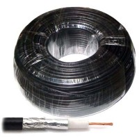 Cablu coaxial RG58 Cabletech, 100 m, impedanta 50 ohm