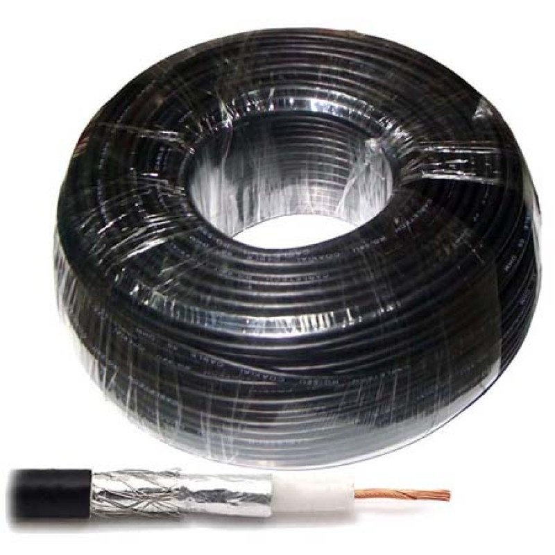Cablu coaxial RG58 Cabletech, 100 m, impedanta 50 ohm