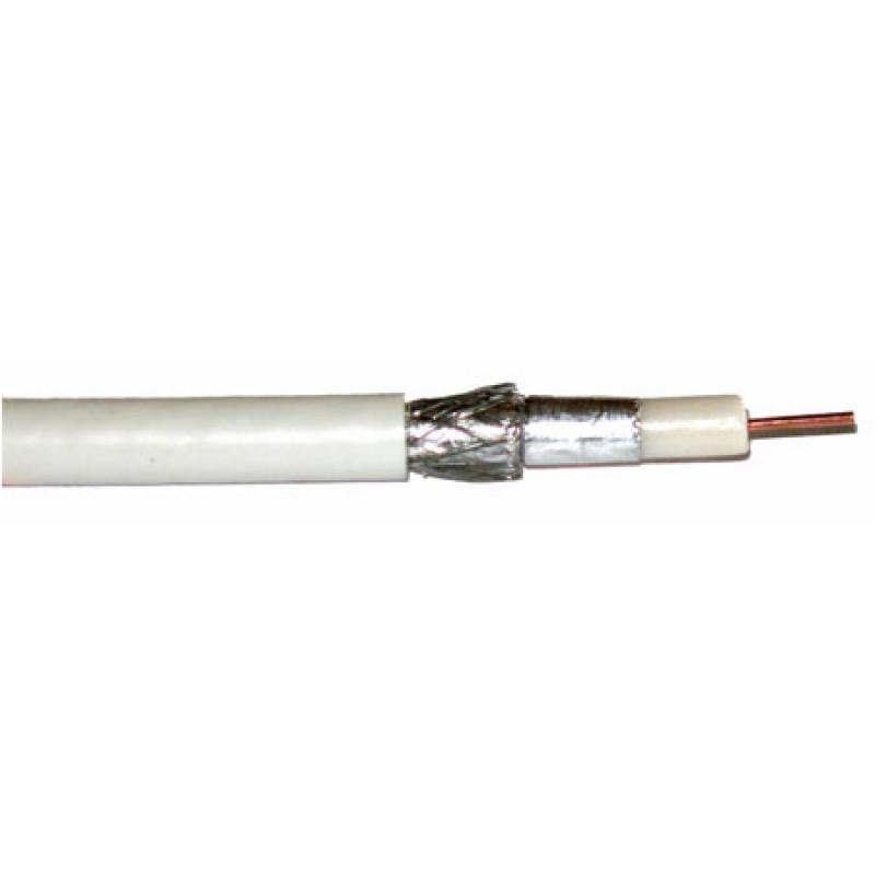 Cablu coaxial Cabletech RG6U, cupru, rola 100 m 2021 shopu.ro