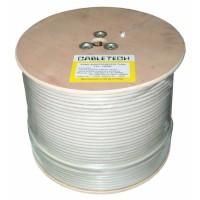 Cablu coaxial RG6U, CSC, 1.0 mm, rola 100 m