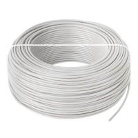 Cablu conductor LGY, H07V-K 1 x 1.5, rola 100 m, Alb