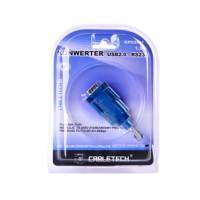 Cablu convertor USB 2.0 - RS232 D-SUB, 1.5 m, Transparent