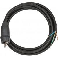 Cablu de conectare Brennenstuhl, IP44, 3 m, Negru