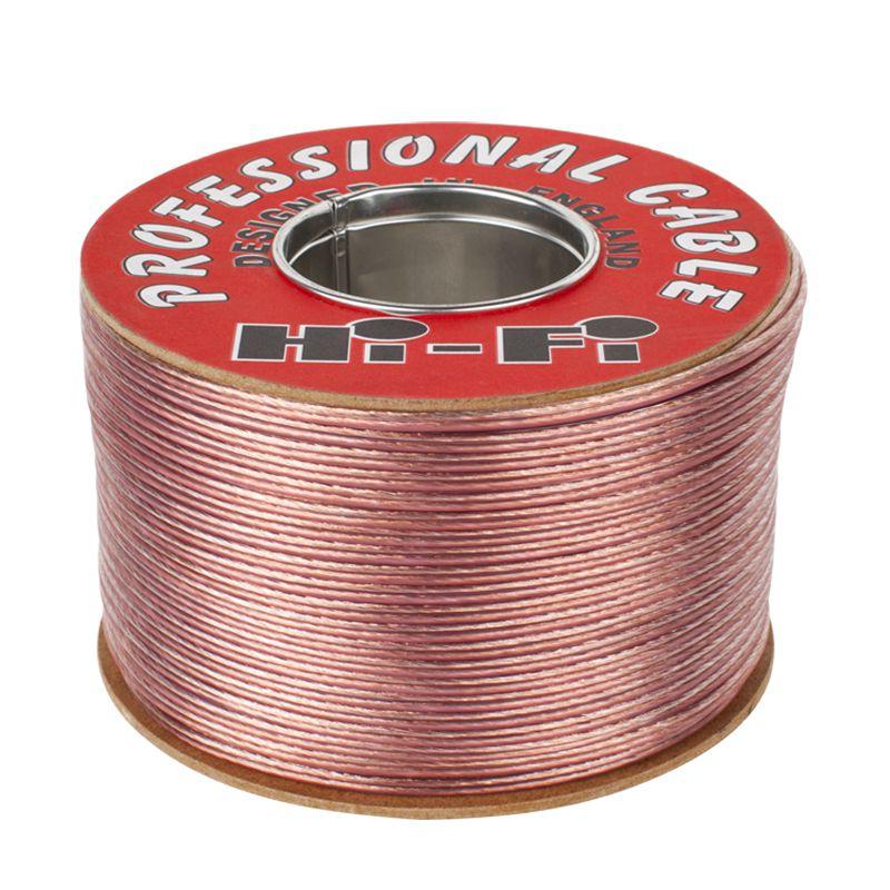 Cablu difuzor Cabletech, TLYp, plat, un fir marcat cu rosu, rola 300 m