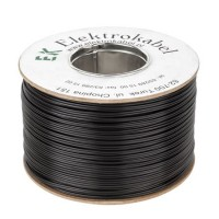 Cablu SMYp pentru difuzor, 2 x 0.22 mm, 300 m, Negru