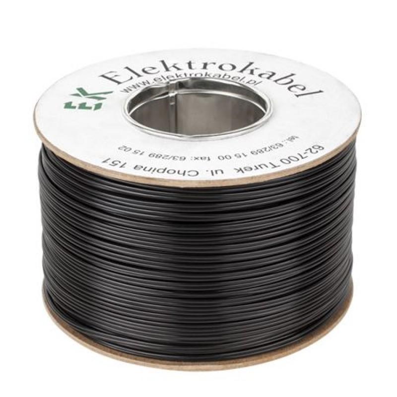Cablu SMYp pentru difuzor, 2 x 0.22 mm, 300 m, Negru 2021 shopu.ro
