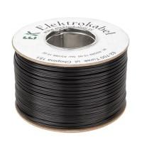 Cablu SMYp pentru difuzor, 2 x 0.5 mm, 200 m, Negru