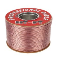 Cablu TLYp pentru difuzor, 2 x 0.75mm, 200 m, Transparent
