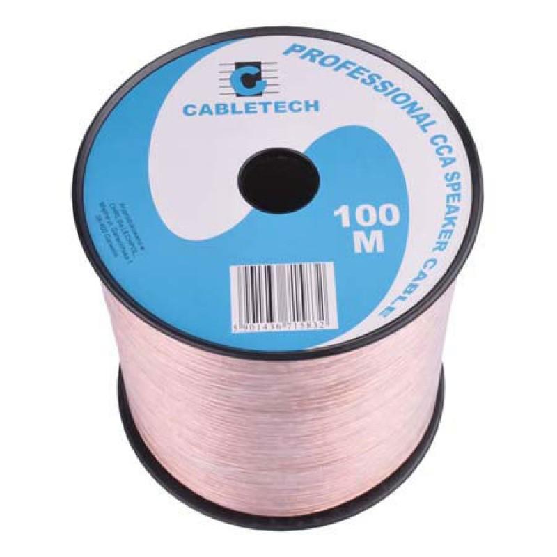 Cablu difuzor Cabletech, 1.5 mm, rola 100 m, transparent 2021 shopu.ro