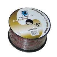 Cablu difuzor Cabletech, cupru, 0.5 mm, rola 100 m