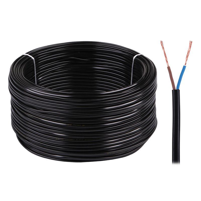 Cablu electric Omy, 2 x 0.75 mm, 300 V, rola 100 m 2021 shopu.ro