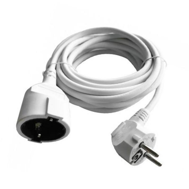 Cablu extensie, lungime 10 m, 16 A, Alb