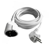 Prelungitor tip cablu extensie, lungime 5 m, 16 A, Alb